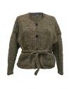 Cardigan in lana Hiromi Tsuyoshi colore verde acquista online RW17-012 D-ASSORTED