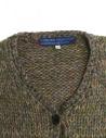 Cardigan in lana Hiromi Tsuyoshi colore verde RW17-012 D-ASSORTED prezzo