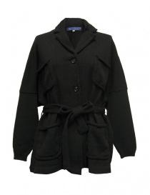 Giacche donna online: Giacca oversize Hiromi Tsuyoshi colore nero