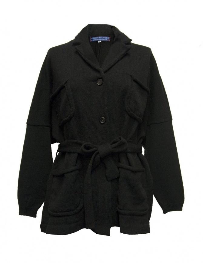 Hiromi Tsuyoshi black oversize jacket RW17-006 BLACK womens suit jackets online shopping