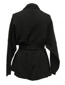 Hiromi Tsuyoshi black oversize jacket