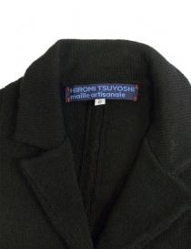 Giacca oversize Hiromi Tsuyoshi colore nero prezzo