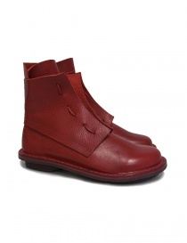 Trippen Solid red ankle boots SOLID-RED