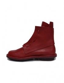 Stivaletto Trippen Solid rosso acquista online