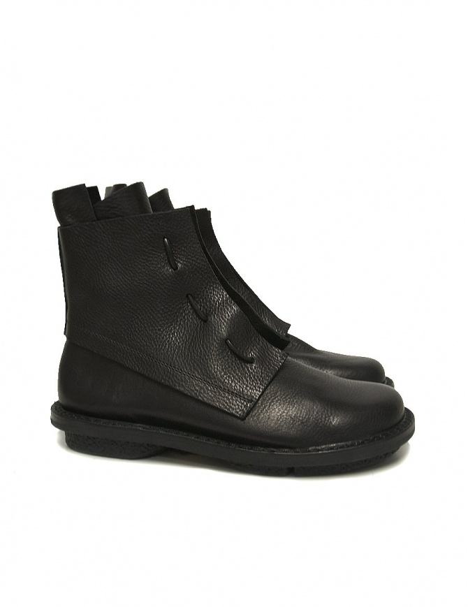 Trippen Solid black ankle boots SOLID-BLK womens shoes online shopping