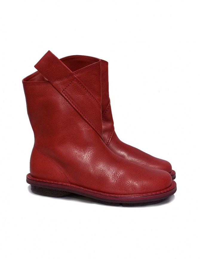 Stivaletto Trippen Exit rosso EXIT-RED calzature donna online shopping