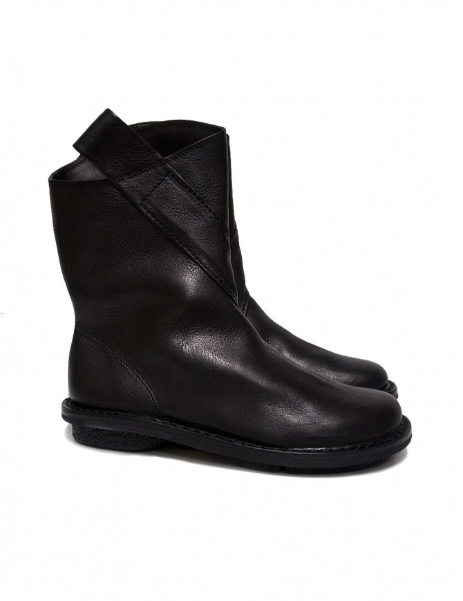Trippen Exit black ankle boots, women's shoes