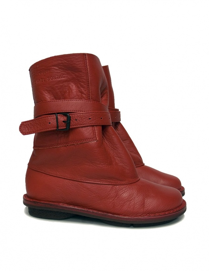 Trippen Fold T for Michael Sontag red ankle boots FOLD_T-RED womens shoes online shopping