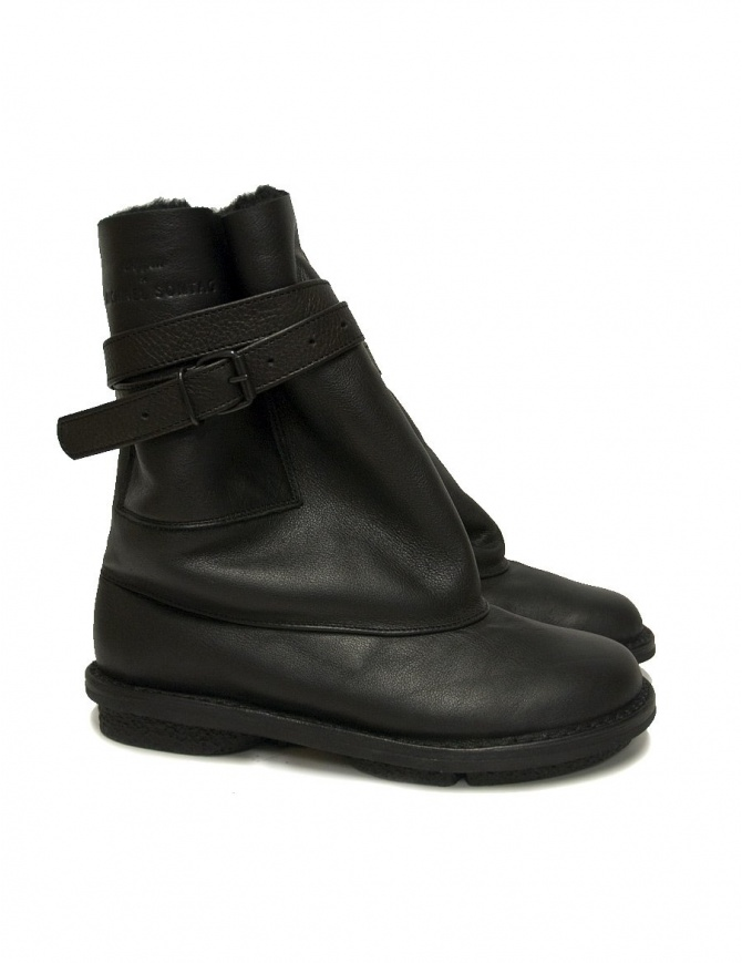 Trippen Fold T for Michael Sontag black ankle boots FOLD_T-BLK womens shoes online shopping