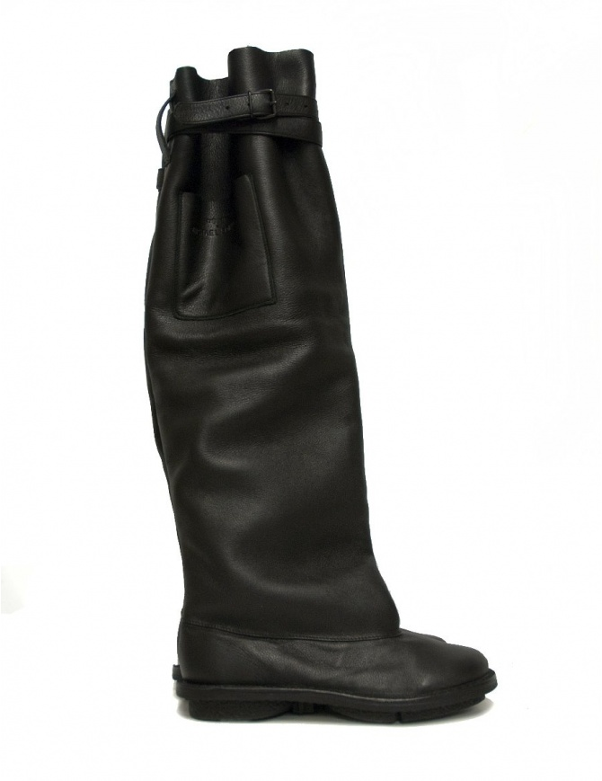 Trippen Fold H T for Michael Sontag black boots FOLD-H-T-NERO womens shoes online shopping