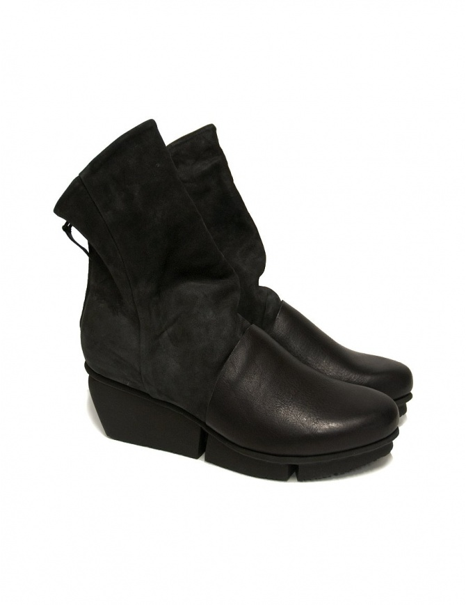 Trippen Lava black ankle boots LAVA-BLK womens shoes online shopping