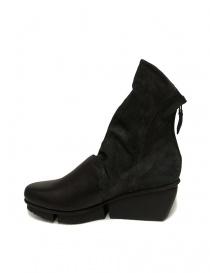 Trippen Lava black ankle boots