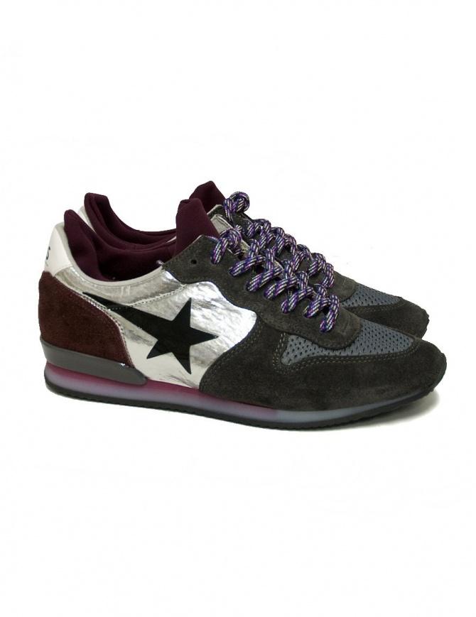 Sneaker Golden Goose Haus grigio viola H31WS903-A1-31HW calzature donna online shopping