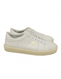 Mens shoes online: Golden Goose white tennis sneaker