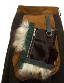 Kolor brown skirt price