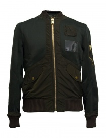 Kolor green bomber jacket online