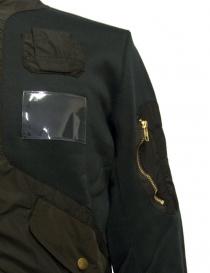 Kolor green bomber jacket price