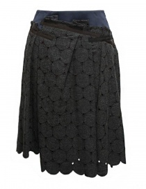 Kolor grey skirt 17WCL-S03145 GRAY