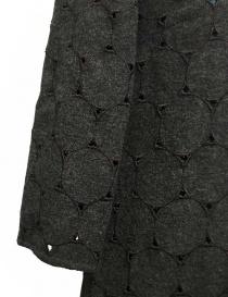 Abito Kolor in lana grigio traforato prezzo