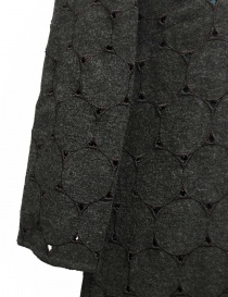 Kolor grey wool openwork dress price