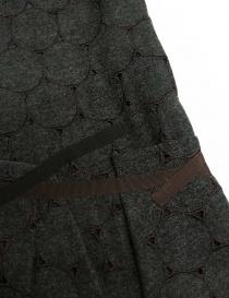 Abito Kolor in lana grigio traforato abiti donna prezzo