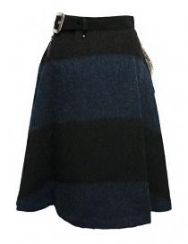 Kolor blue black skirt buy online