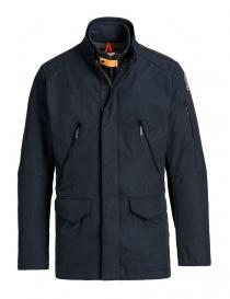 Parajumpers Genesee blue black field jacket PMJCKUB01-GENESEE-M560 order online