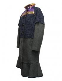 Cappotto Kolor colore grigio