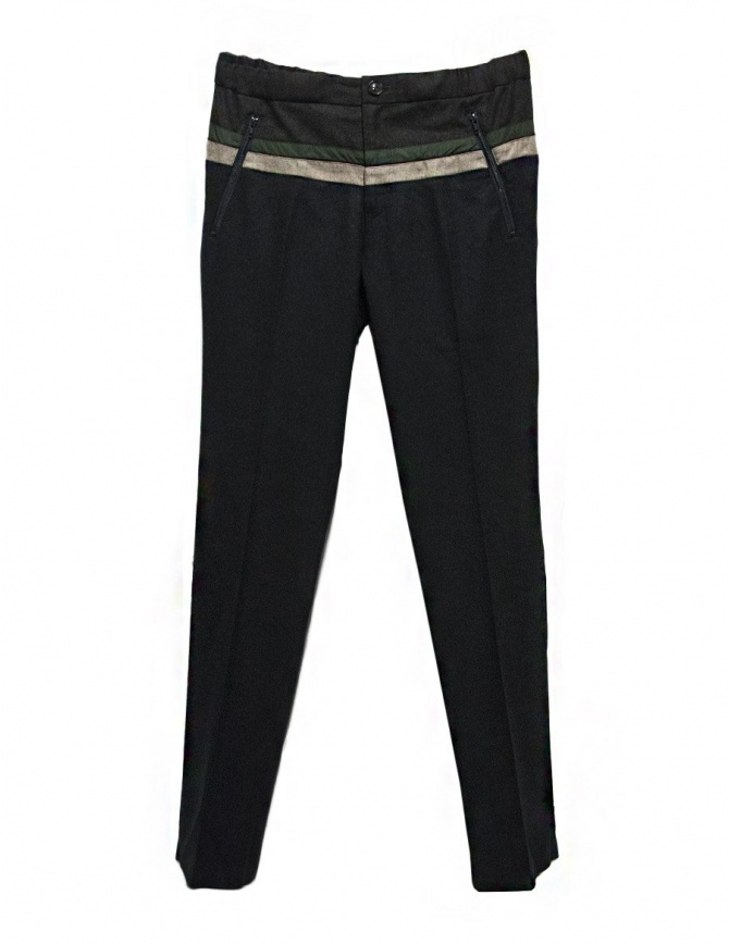 Kolor navy blue pants 17WCM-P09110 C-NAVY mens trousers online shopping