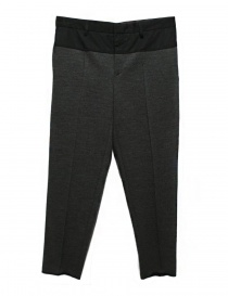 Kolor middle grey wool pants online