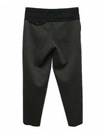 Kolor middle grey wool pants
