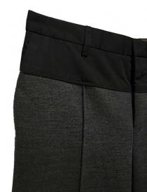 Pantalone Kolor grigio medio in lana prezzo