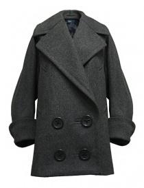 Cappotto oversize Kolor colore grigio 17WCL-C02141 GRAY