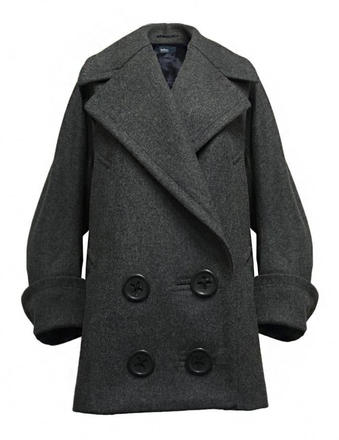 Cappotto oversize Kolor colore grigio 17WCL-C02141 GRAY cappotti donna online shopping