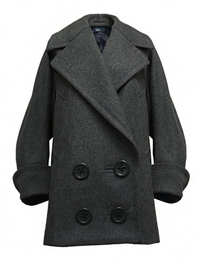 Kolor grey oversized coat 17WCL-C02141 GRAY womens coats online shopping