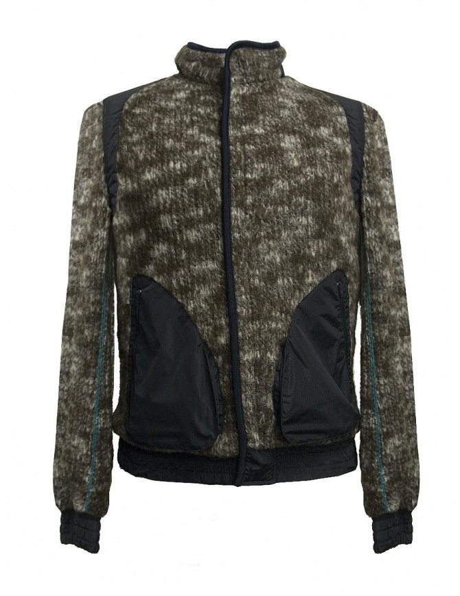 Kolor brown camouflage jacket 17WMC-G19205-A-BROWN mens jackets online shopping