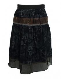 Kolor blue grey skirt online