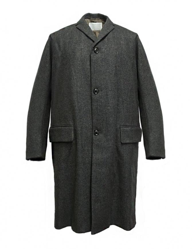 Cappotto Kolor colore grigio melange 17WCM-C01101 B-MELANGE GRAY cappotti uomo online shopping