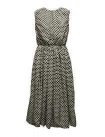 Sara Lanzi black and white polka dot dress online