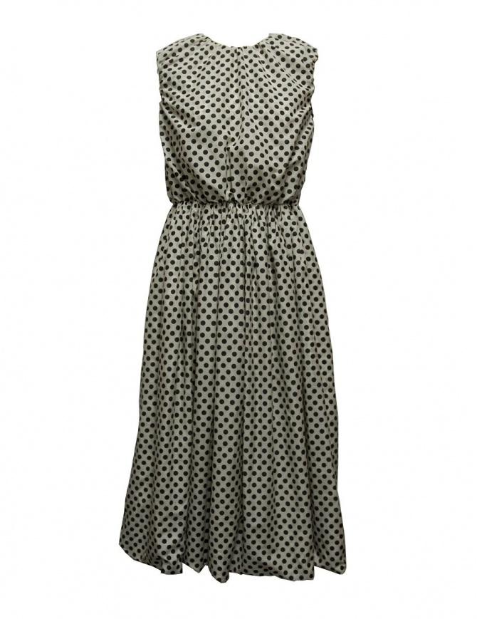 Sara Lanzi pois black and white dress 01F-CSW-19-DRESS-POIS womens dresses online shopping