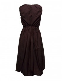 Sara Lanzi plum wool and silk dress