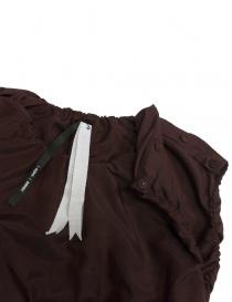 Sara Lanzi plum wool and silk dress price