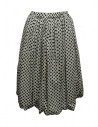 Sara Lanzi black and white pois skirt buy online 03F-CSW-19-SKIRT-POIS