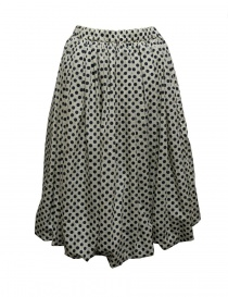 Sara Lanzi black and white pois skirt