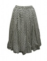 Sara Lanzi black and white pois skirt shop online womens skirts