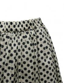 Sara Lanzi black and white pois skirt price