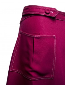 Sara Lanzi cyclamen pink skirt price