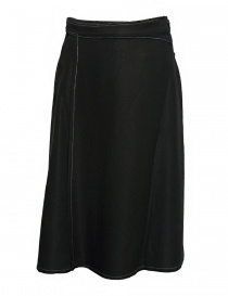 Gonna Sara Lanzi colore nero 03B.VI.09 SKIRT BLACK order online