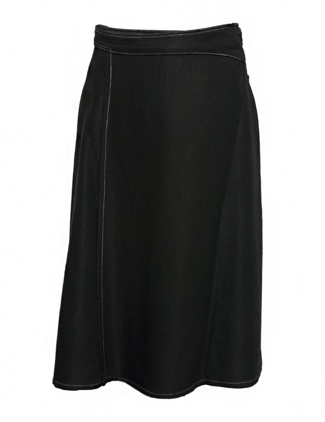 Gonna Sara Lanzi colore nero 03B.VI.09 SKIRT BLACK gonne donna online shopping