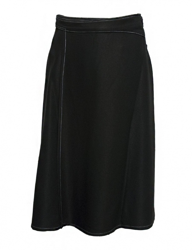 Sara Lanzi black skirt 03B.VI.09 SKIRT BLACK womens skirts online shopping